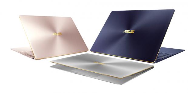 ASUS ZenBook 3_UX390 royal blue_rose gold_quartz grey