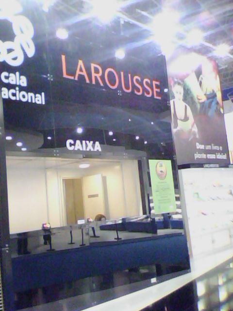 Stand da Editora Larousse